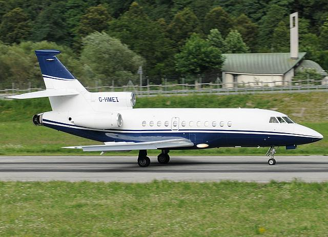 G-HMEI F900 (14.07.2012)  First Falcon 900 built by Dassault - Serial number 1!