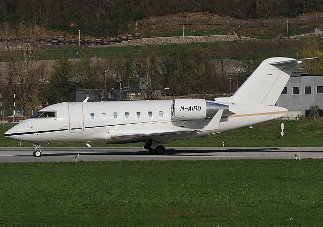 M-AIRU CL60 (28.03.2012) For the first time at LSZA! Former C-GALP.