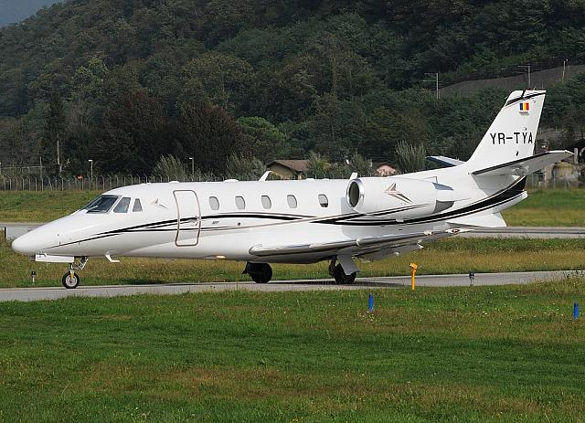 YR-TYA C56X (08.10.2012) Operated by Toyo Aviation from Romania.