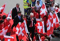 Arrival of the Swiss National Team