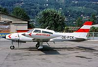 OE-FCK Austrian Airlines C310 (september 1988)