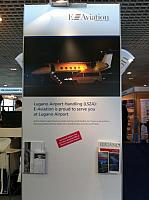 ::: E-Aviation Swiss Sagl Stand at Business Airport World Expo 2012 - Cannes, april 2012. :::
