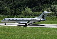 9H-VJB GLEX (12.07.2012) The first Global 6000 in the history of Lugano-Airport!