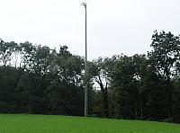 The new approach lights for RWY19 (02.10.2010)