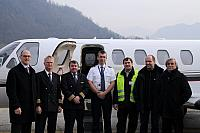 Netjets crews completed the Lugano Qualification B (28.01.2011)